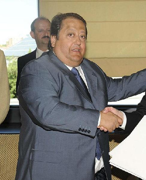 Alfonso Tezanos, detenido, hoy, es presidente de Fedecam.
