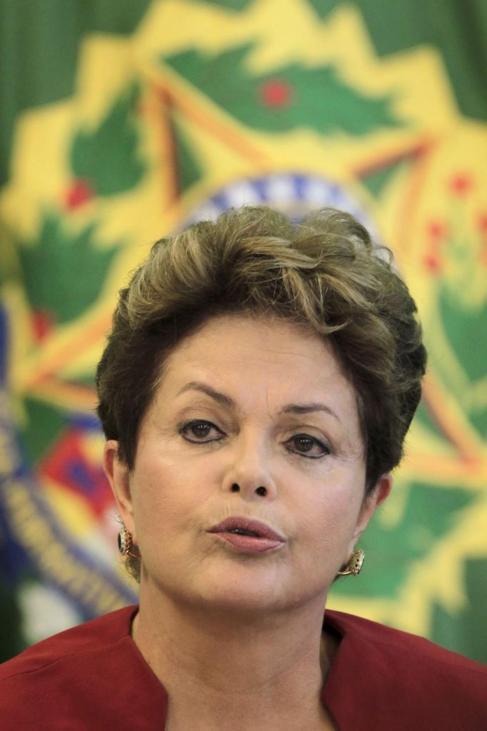 La presidenta de Brasil se encuentra en Santiago de Chile en la toma...