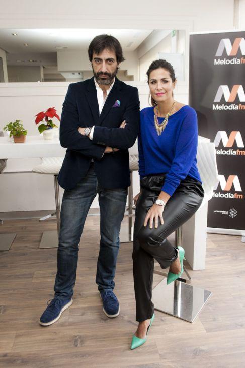 uria Roca y Juan del Val en el estudio de su programa.
