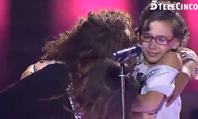 Malú y Rosario consolaron a Iraila que se echó a llorar en su...
