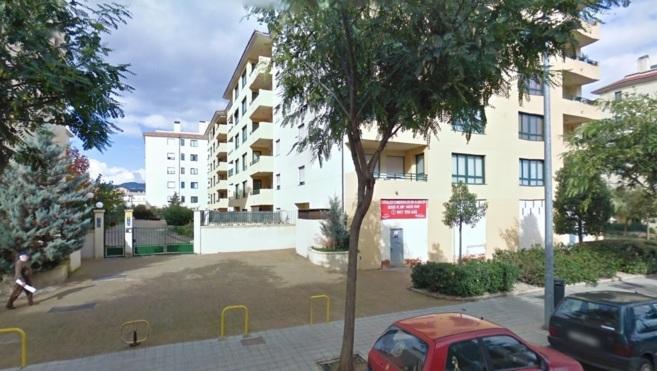 Edificio situado en la urbanización de Son Cotoner próxima al lugar...
