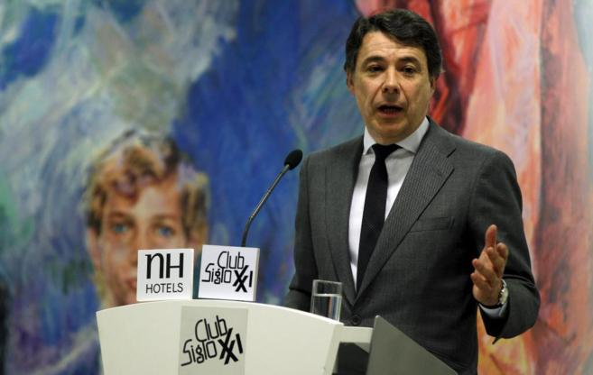 Ignacio González, en una intervención en el Club Siglo XXI.