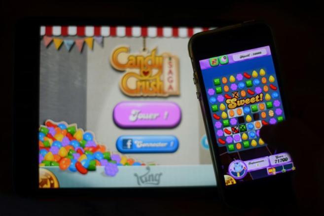 El juego Candy Crush.
