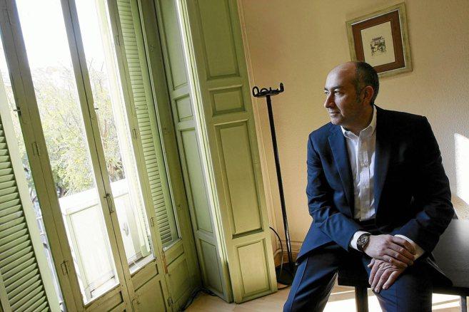 El ex alcalde socialista de Elche, Alejandro Soler, durante la...