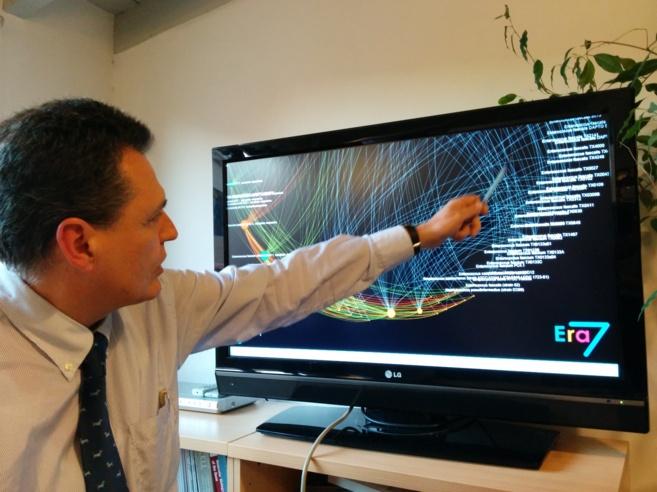 El cofundador y CEO de Era 7 Bioinformatics, Eduardo Pareja, en la...