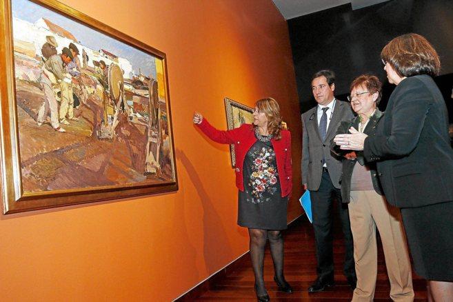 En su estancia en Xàbia, Sorolla pintó a los trabajadores en oficios...