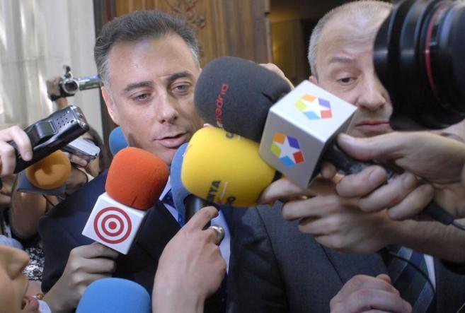 Alberto López Viejo, tras declarar en el juzgado por la trama...
