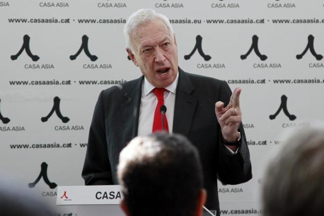 José Manuel García-Margallo, ministro de Exteriores, en un acto en...