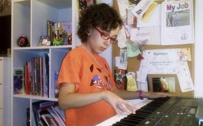 Iraila, concursante de 'La Voz Kids'.