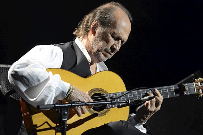 Paco de Lucía en la edición del pasado año del Festival de Jazz de...