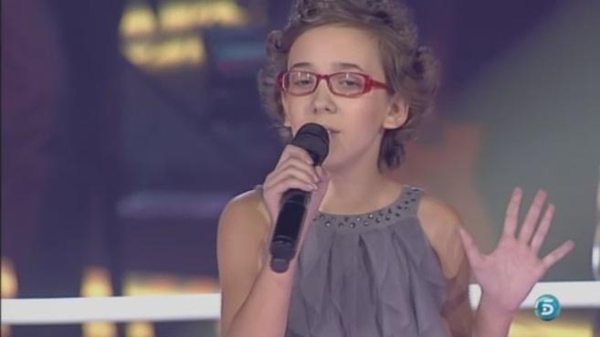 Iraila, durante su última actuación en el programa.