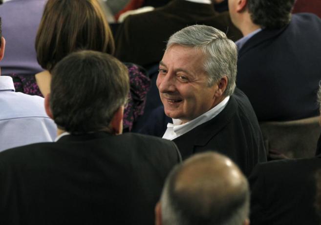 José Blanco, durante la reunión del Comité Federal