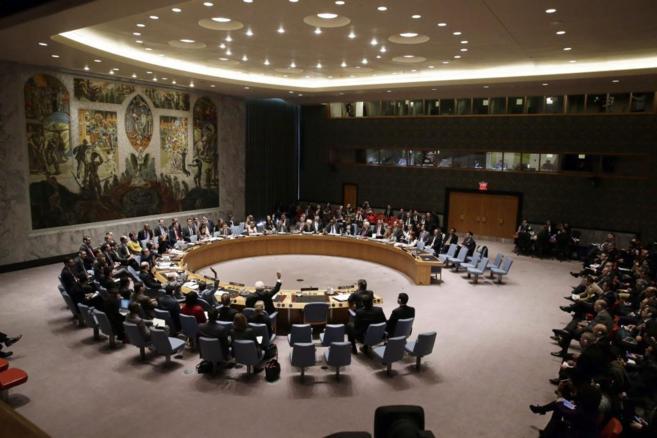 Votación del Consejo General de la ONU.