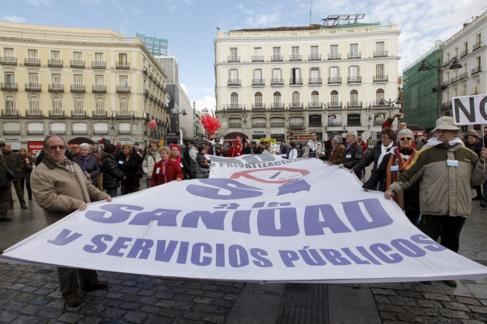 Manifestación del pasado 16 de febrero.