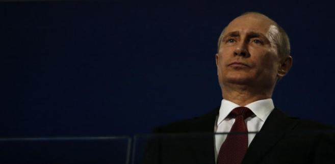 El presidente ruso Vladímir Putin en la ceremonia de clausura de los...