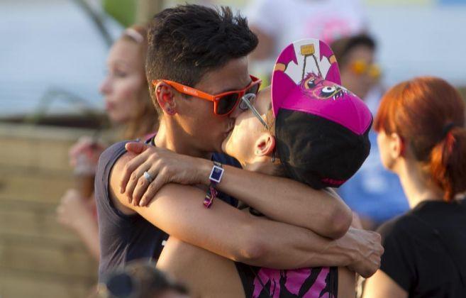 uno se puede contagiar sida por un beso