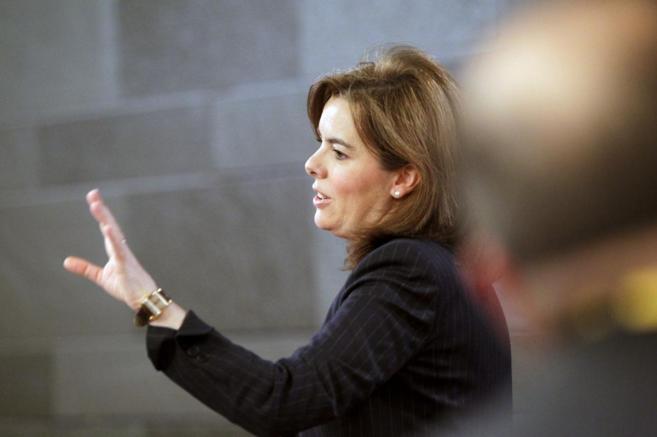 Soraya Sáenz de Santamaría, en una imagen reciente.