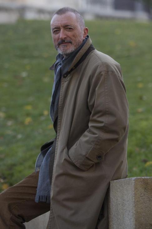 El escritor Arturo Perez Reverte, uno de los autores de Alfaguara