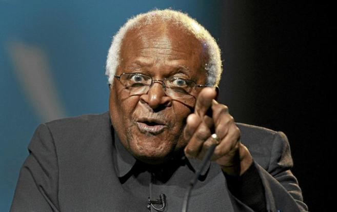 El arzobispo emérito de Ciudad del Cabo y premio Nobel de la Paz...