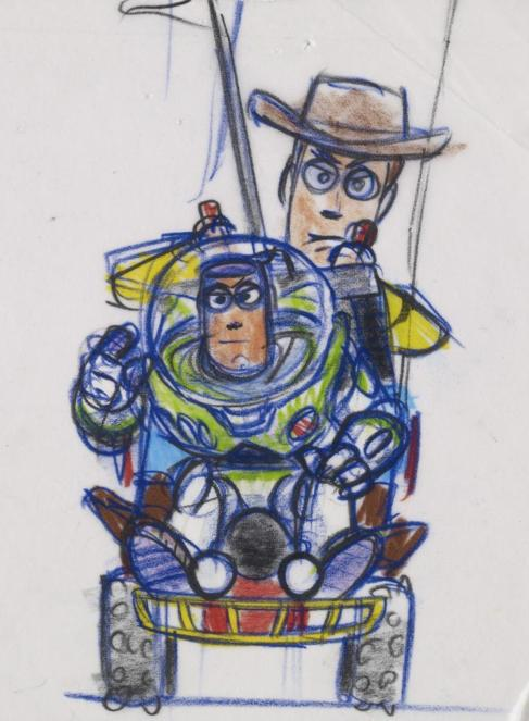 Boceto de 'Toy Story'