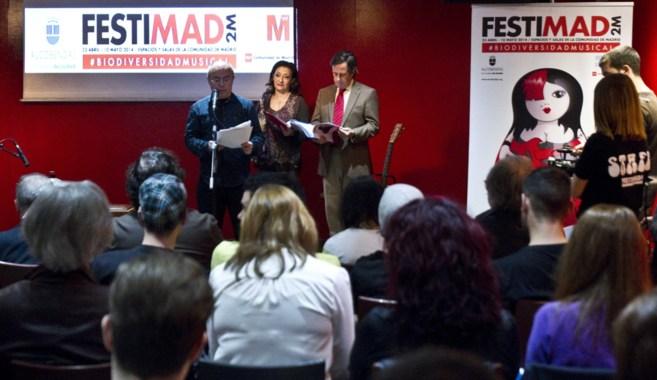 Presentación de Festimad, este jueves en la FNAC de Callao.