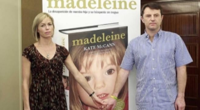 Los padres de Madeleine McCann, en la presentación del libro sobre su...