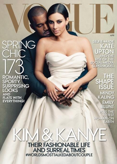 La portada de abril de Vogue USA, realizada por  Annie Leibovitz.