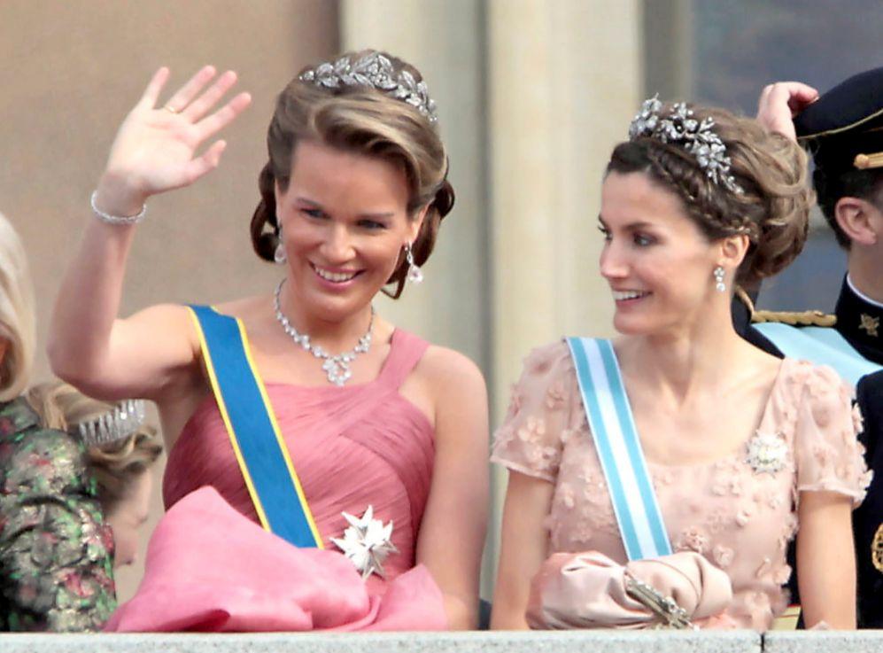 La (todavía) Princesa de Asturias se convertirá, junto a Matilde de...