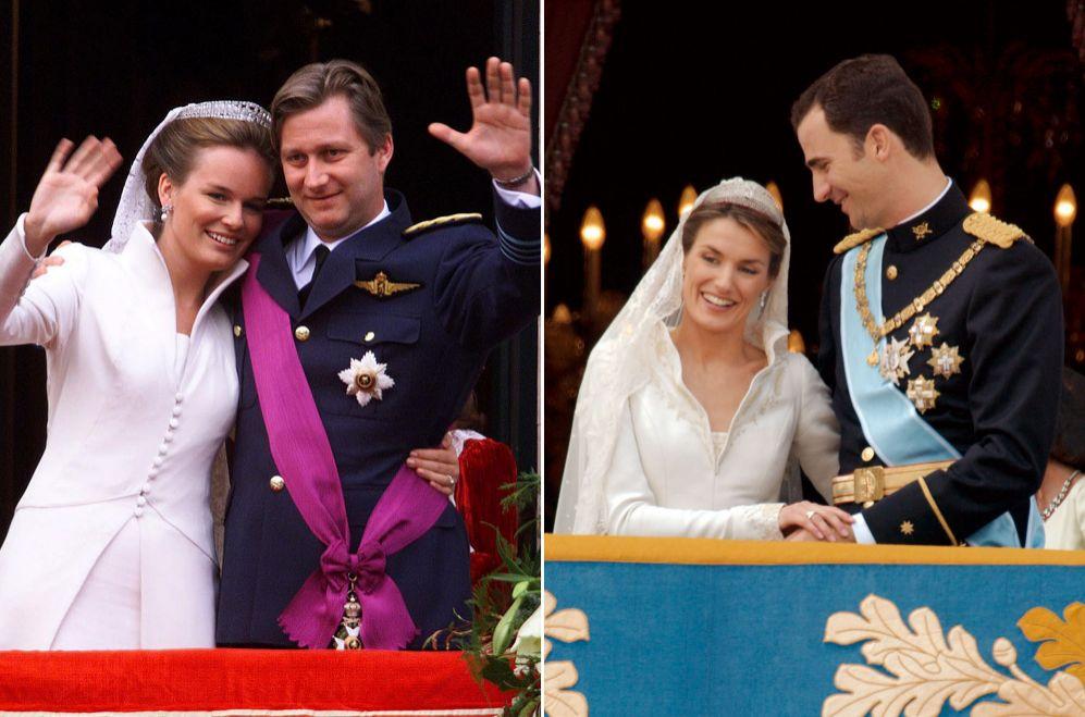 Matilde y el entonces príncipe Felipe se casaron en 1999 (este año...