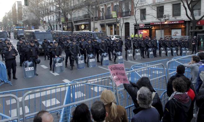 Marcha de la Dignidad en Madrid.