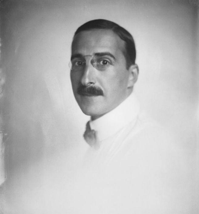 El autor austriaco Stefa Zweig en una imagen de 1920.