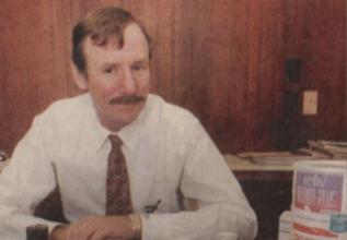 El auténtico Ron Woodroof, fotografiado por John F. Rhodes