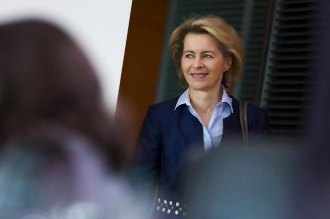 La ministra de Defensa alemana, Ursula von der Leyen.