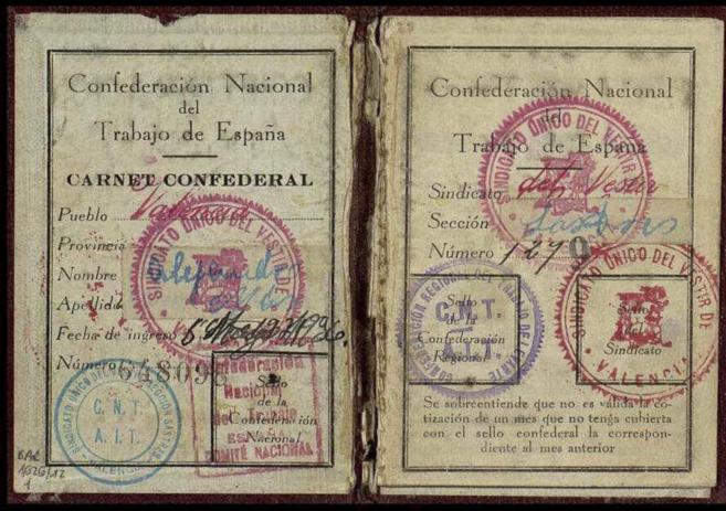 Uno de los documentos que reclaman a Cataluña desde Salamanca.