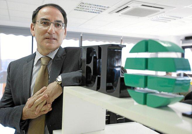 El presidente de la patronal andaluza, Javier González de Lara.
