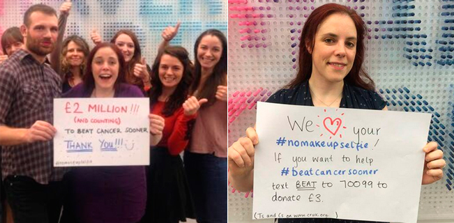 Foto: Twitter Cancer Research UK.