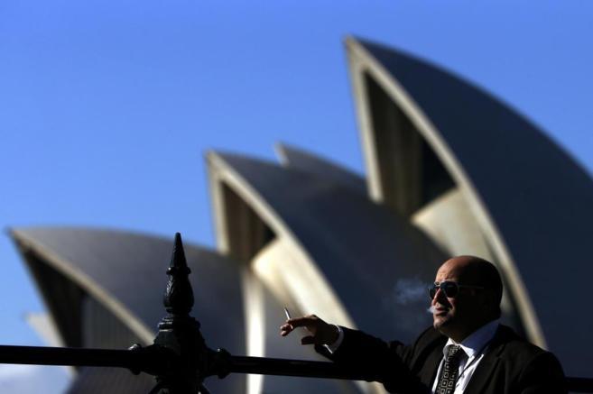La Casa de la Ópera, en Sidney (Australia).