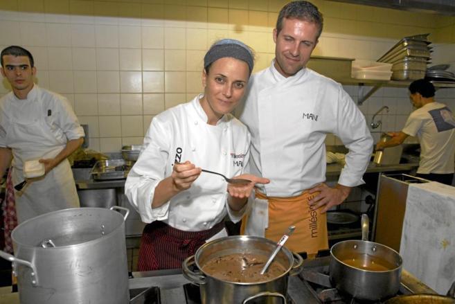 La mejor chef del mundo, Helena Rizzo, en una imagen de archivo.