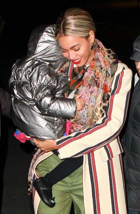 <strong>5. Blue Ivy, Beyoncé (32) y Jay-Z (44).</strong> La cantante...