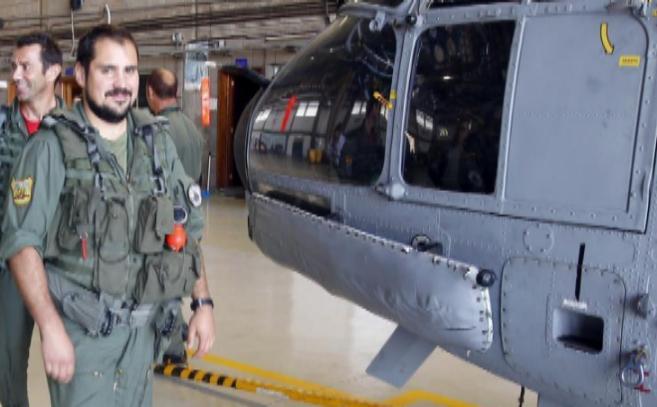 El sargento mecánico Carlos Caramanzana, uno de los cuatro militares...