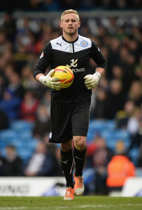 Kasper Schmeichel, hijo del mítico portero del United.