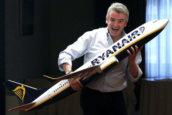 El creador de Ryanair, Michael O'Leary.