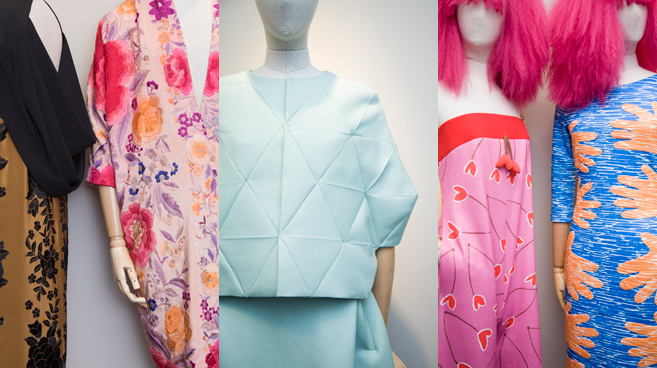 De izq. a dcha., diseños de Duyos, Devota & Lomba y Agatha Ruiz...