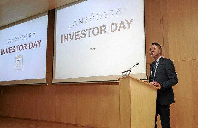 Javier Jiménez, director general de Lanzadera, durante su...