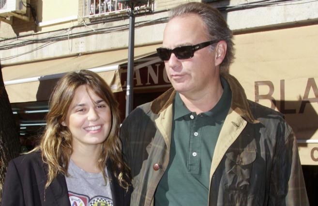 El cantante Bertín Osborne y su hija Claudia, que ya piensa en...