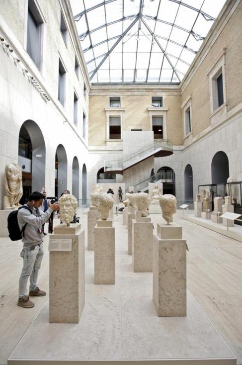 Aspecto del remodelado Museo Arqueológico Nacional.