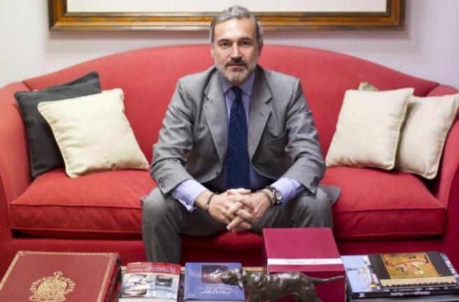 El aristócrata y empresario Javier Soto posa para LOC.