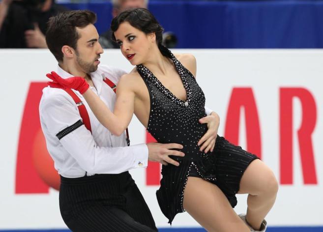 Sara Hurtado y Adrià Díaz, en el Programa Corto de danza sobre...