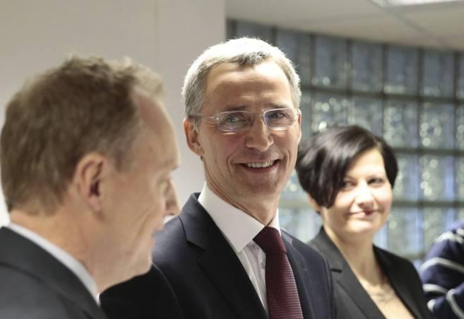 El ex primer ministro noruego y próximo secretario general de la...