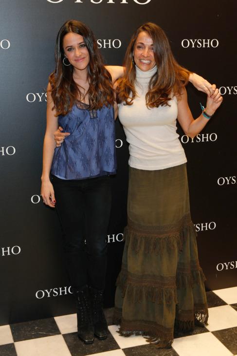 La actriz Macarena García está muy unida a su madre, Sofía...